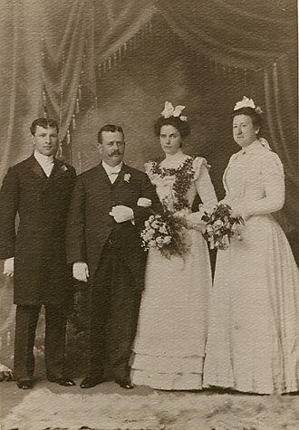 Hugh Phillips and Ella Uhland's wedding