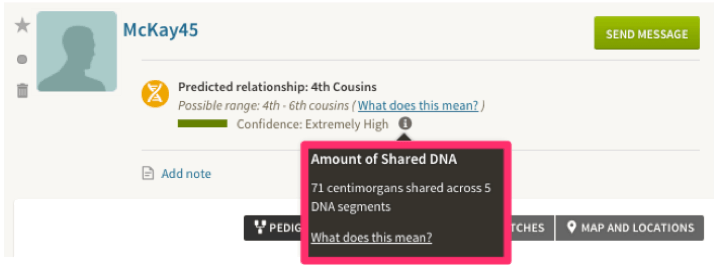 Behind The New AncestryDNA Feature: Amount of Shared DNA - Ancestry Blog